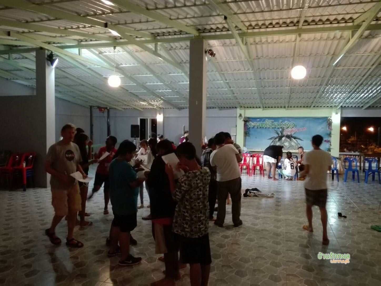 ห้องประชุมแอร์ใหญ่ 300 ท่าน ที่พักริมทะเล หาดสามร้อยยอด