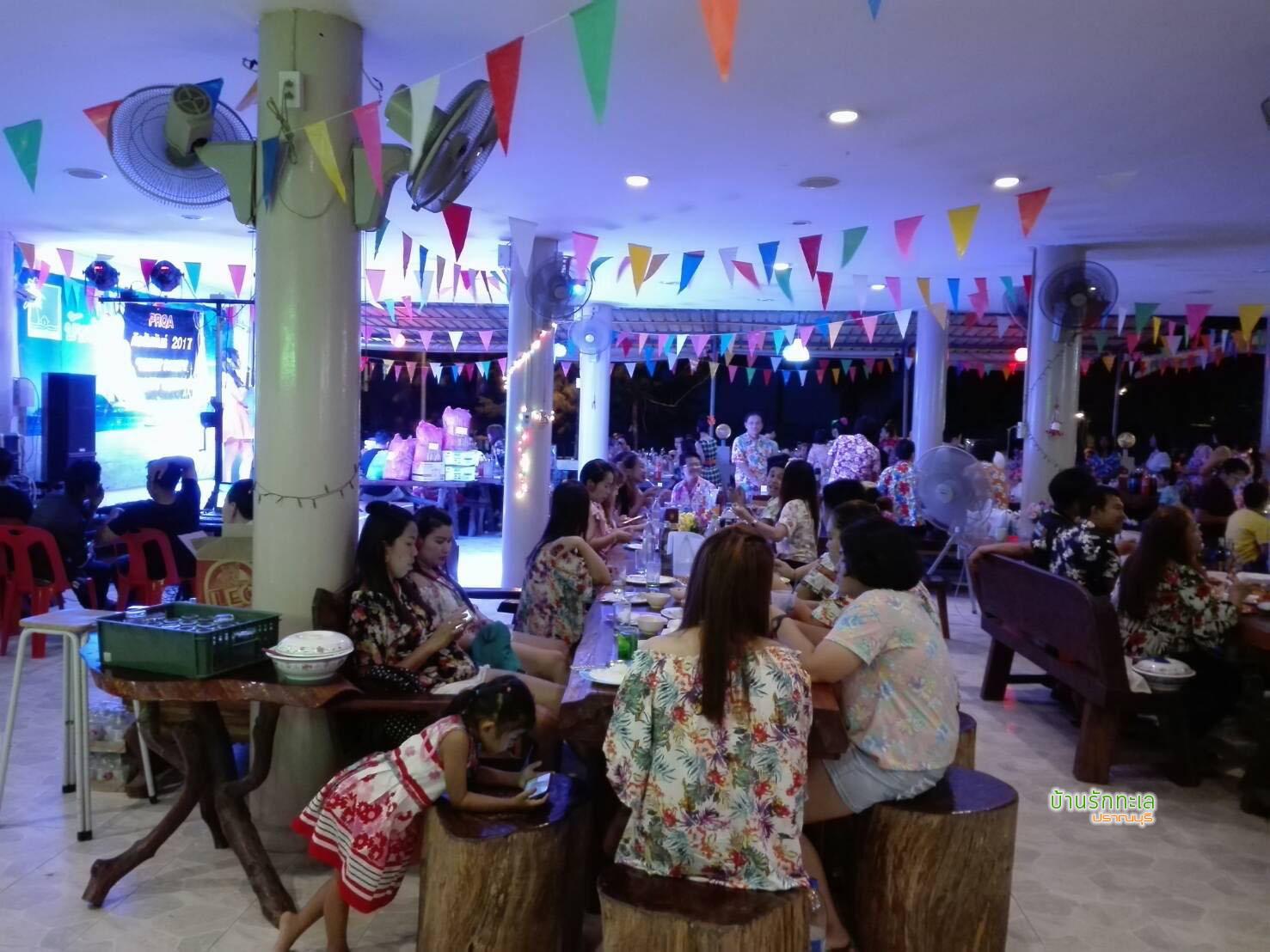 ร้านอาหารวิวทะเล ที่พักริมทะเล หาดสามร้อยยอด