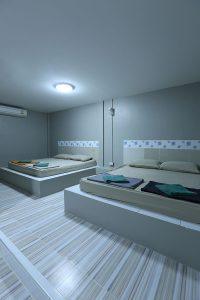 ห้องสายธาร 4 ท่าน แบบ 2 เตียงใหญ่